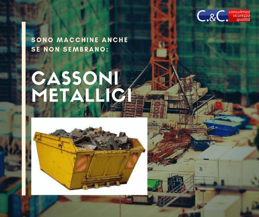 Marcatura CE cassoni metallici