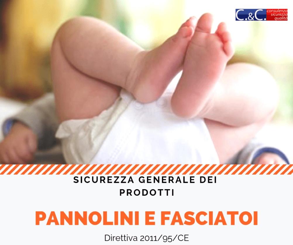 Conformità pannolini e fasciatoi alla Direttiva 2001/95/CE