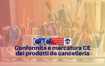Penne e pennarelli marcati CE