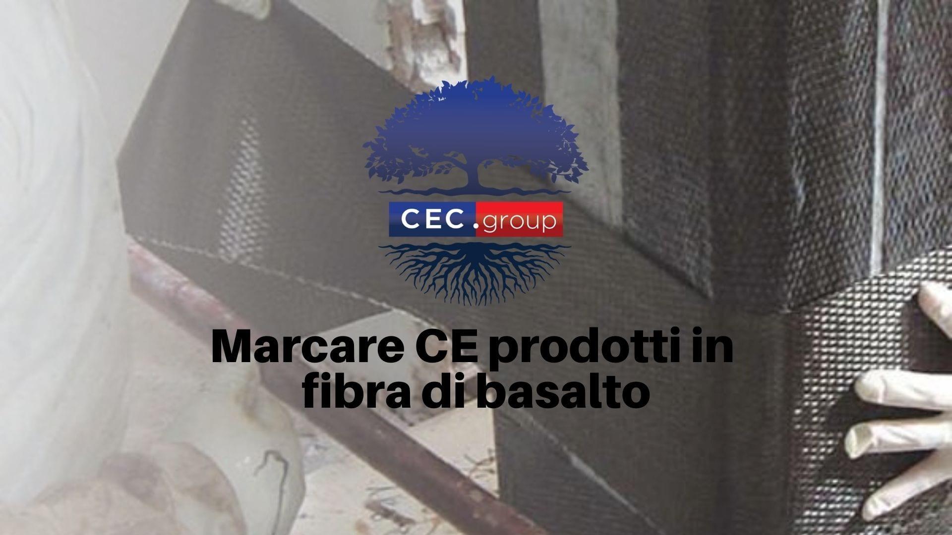 Marcatura CE dei prodotti in fibra di basalto