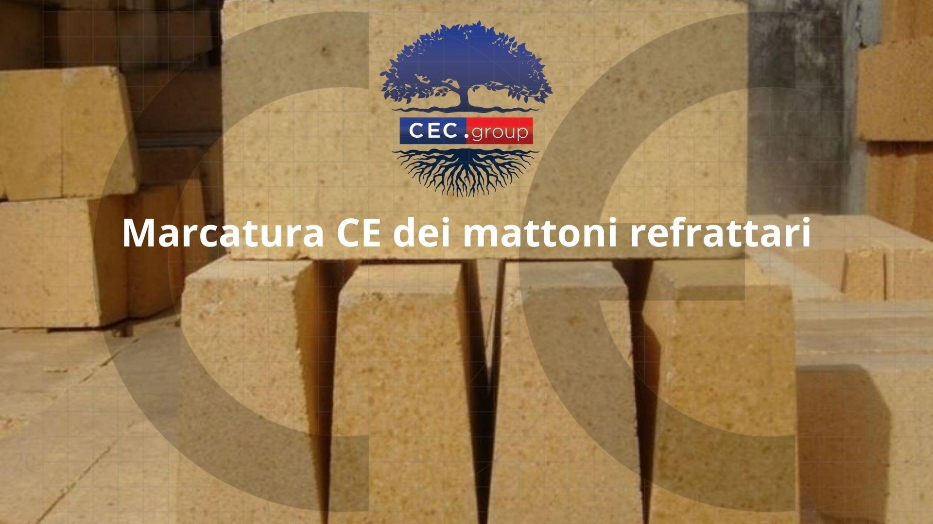 Marcatura CE mattoni refrattari
